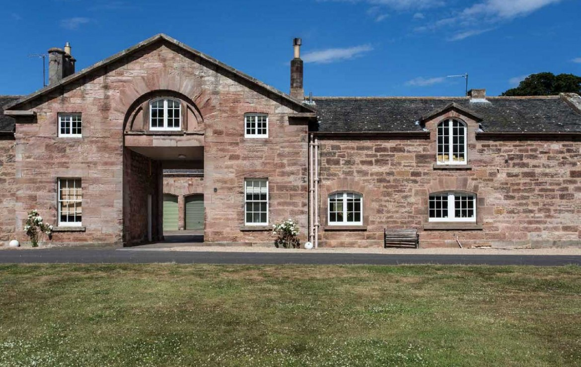 View of Dunglass Country Estate Outbuildings