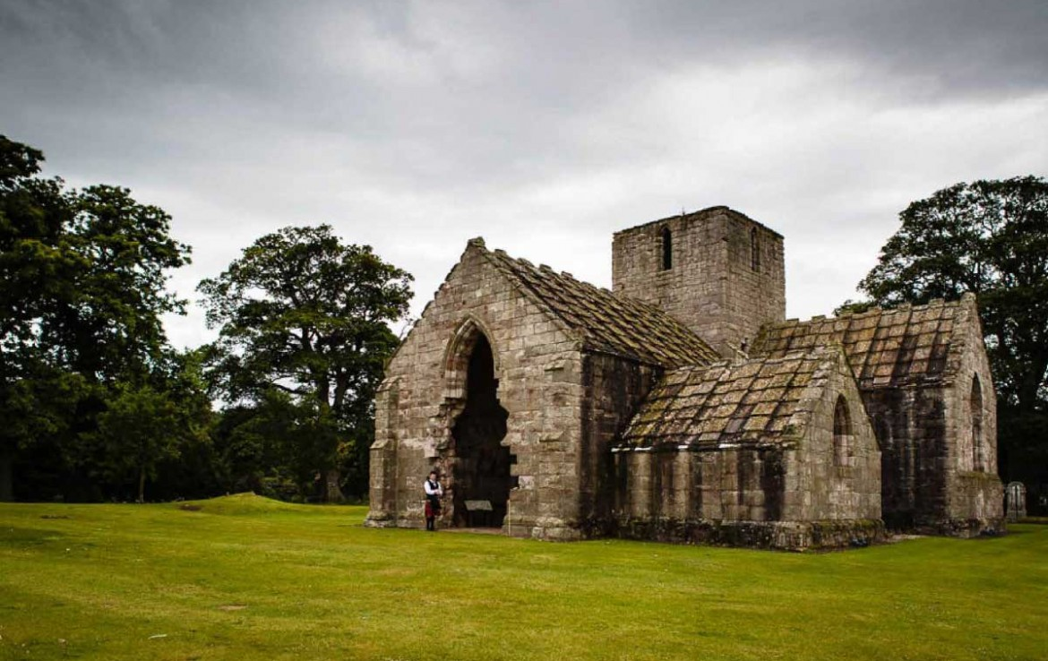 Dunglass House chapel - which has been renovated for private wedding hire