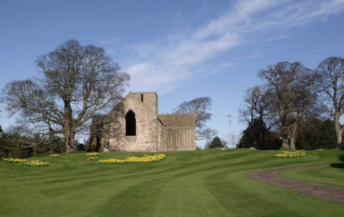 Dunglass Estate Wedding Chapel which is hired out for exclusive use weddings