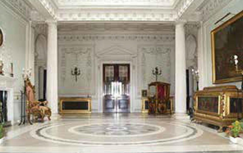 Grand Entrance Hall of Manderston House Estate