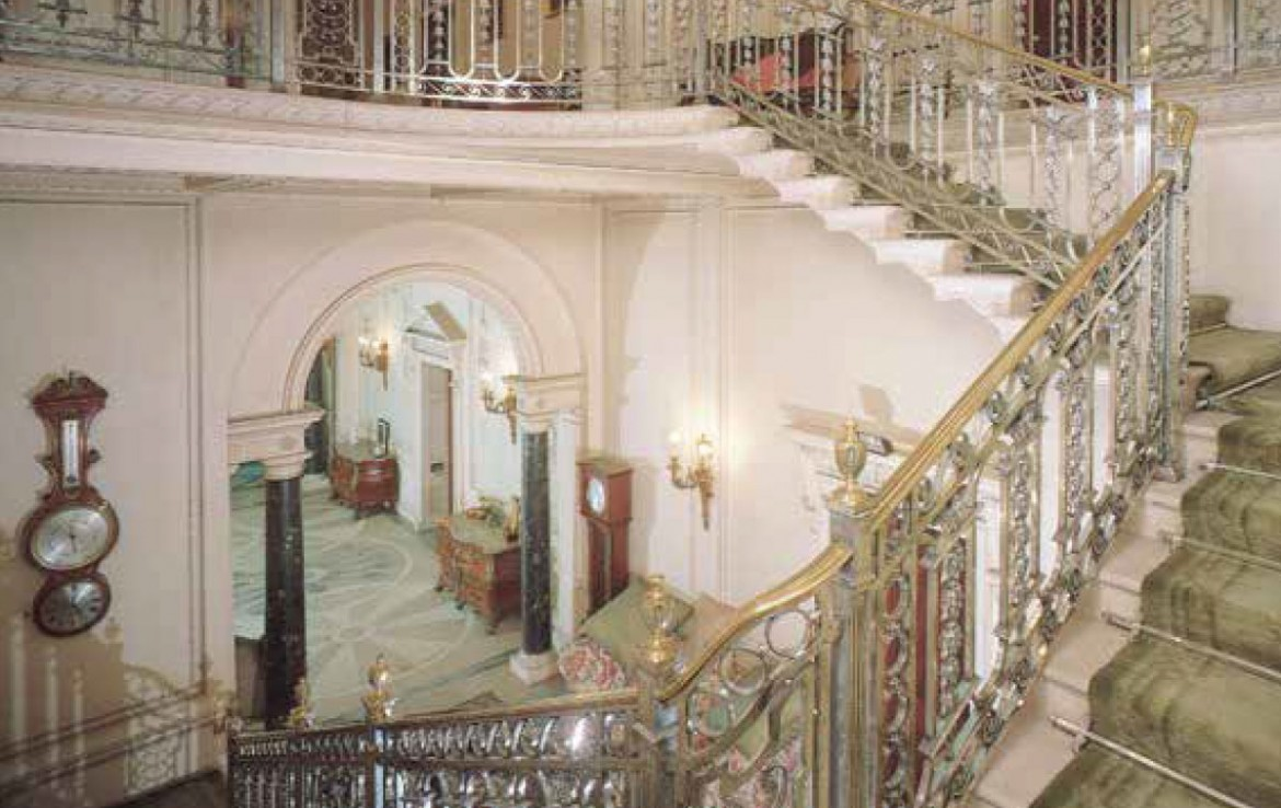 manderston house hall and staircase