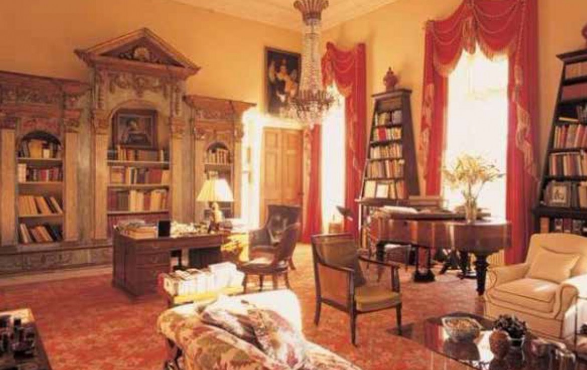 Yester House Estate grand drawing room